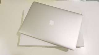 🚚 保固非常長 客製頂規 15吋 Macbook Pro Retina 16G/512G 2015年 機身全新無傷