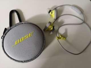 Bose sports wireless earphone
