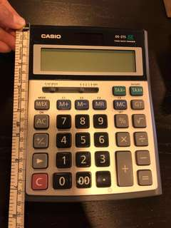 CASIO HEAVY DUTY 12 DIGITS CALCULATOR DS 2TS Bought from JAPAN