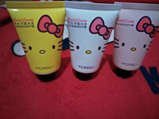 Rorec Hand Cream Lotion Hello Kitty 50g