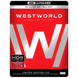 Westworld: The Complete First Season 4K Ultra HD Limited Edition Tin Blu-ray
