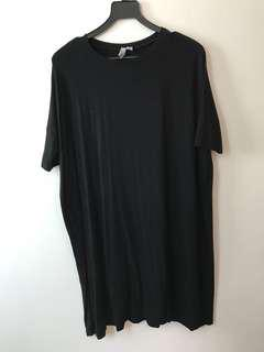 Black T-Shirt ASOS Dress