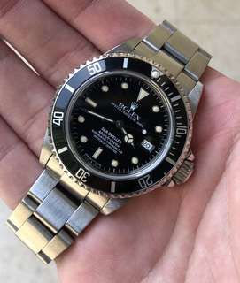 1992 Rolex Sea Dweller 16600 [Box, Papers]