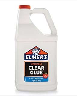 Elmer's Clear Glue 1 Gallon *In-Stock* for Slime (3.78 litres) *Free delivery to MRT station*