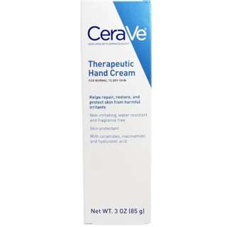 🚚 CeraVe, Therapeutic Hand Cream, 3 oz (85 g)