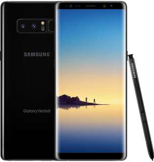 Samsung Note 8 Midnight Black