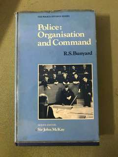 Police:organisation and command