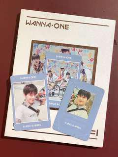 Wanna One Undivided Album Triple Position ver Kang Daniel full set