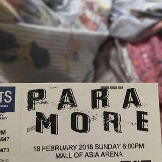 PARAMORE TOUR FOUR GEN AD TICKET