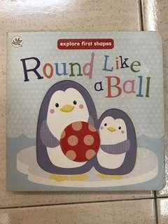 Board Book Round Like A Ball