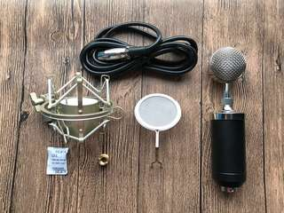Condenser microphone ipad/iphone