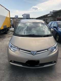 Toyota estima for rental ( MPV )