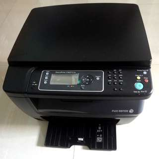 Faulty Fuji Xerox Printer CM215B with still very new toner cartridges intact