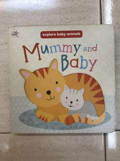 Board Book Mummy and Baby