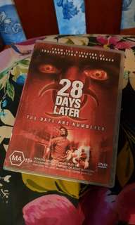 28 Days Later DVD