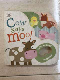 Board Book Cow Says Moo!