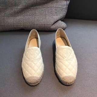 面交  Chanel 香奈兒經典漁夫鞋  35-40碼  多色可選