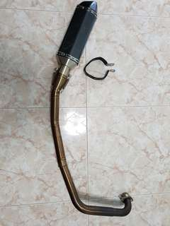 Akra Exhaust pipe