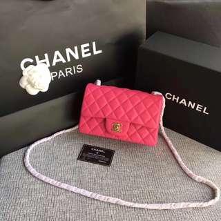 面交  Chanel 香奈兒cf經典手袋  20cm  多色可選