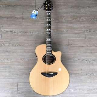 Yamaha APX12000II 二代單板 民謠吉他 木吉他 附原廠琴袋原廠保固一年 電木吉他 電木民謠吉他 福利品