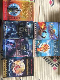 Percy Jackson series - 6 books