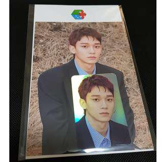 ⚠️Hologram/holographic photocard Set (CHEN)