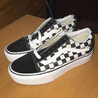 27362a90c900e2 VANS Old Skool Platform Shoes