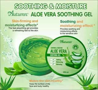 AUTUMN ALOE VERA SOOTHING & MOISTURIZING GEL BPOM
