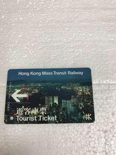 地鐵車票早期旅客車票帶雙磁