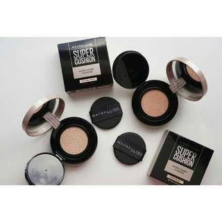 Maybelline ultra cover super bb cushion spf 50+ long lasting