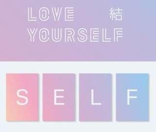 [SET]BTS Love Yourself Answer Album