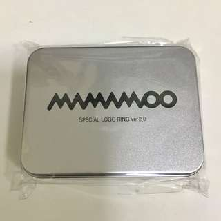 MAMAMOO Official Logo Ring 官方戒指