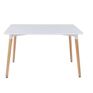 White and Black Stylish Modern Table