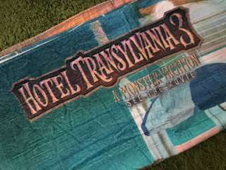 Hotel Transylvania 3: Summer Vacation Towel