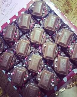 Mini Cadbury Nutella Brownies