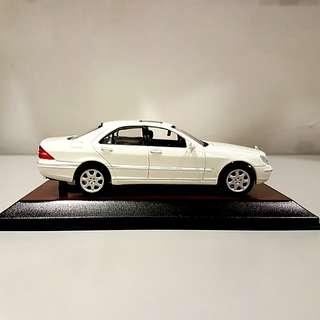 1/43 Mercedes-Benz S-Class W220 S500 scale model car