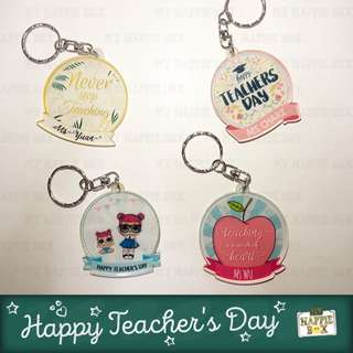Teacher's Day Gift - Personalised Keychain