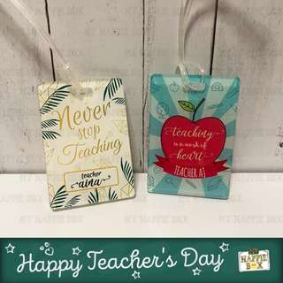 Teacher's Day Gifts - Personalized Luggage Tag