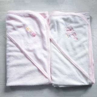 Gerber 2 Hooded Towels & 2 Washcloths