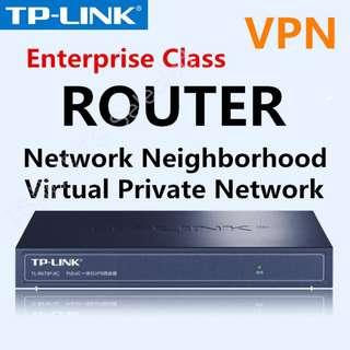 🚚 企業級 超高穩定度 TP-LINK 網路 VPN IP分享器 翻牆神器 頻寬管理器 有線 路由器 POE供電 網路橋接器 內建AC ROUTER network neighborhood ADVANCED FIREWALL