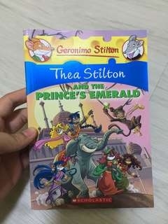 Thea Stilton - and the prince's emerald