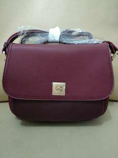 Sling bag maroon ELLE LIMITED EDITION