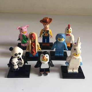 17隻 Lego 人仔