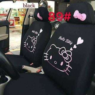 Hello Kitty Car Seat Cover (Black)