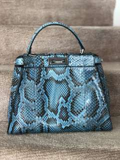 Fendi Python Peekaboo Medium Bag