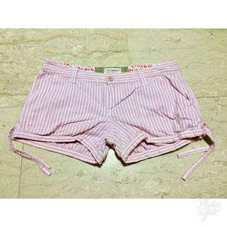 Pink Stripes Shorts