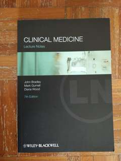 Clinical Medicine Lecture Notes (7th Edition)