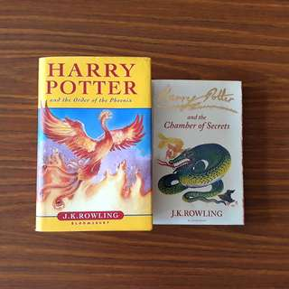 2 for $15: By J.K. Rowling: Harry Potter and the Order of the Phoenix; Harry Potter and the Chamber of Secrets