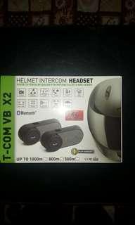 T-com vb x2 helmet intercom