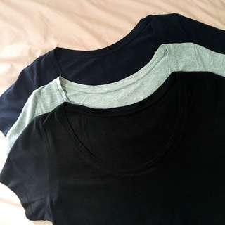UNIQLO Basic Shirts